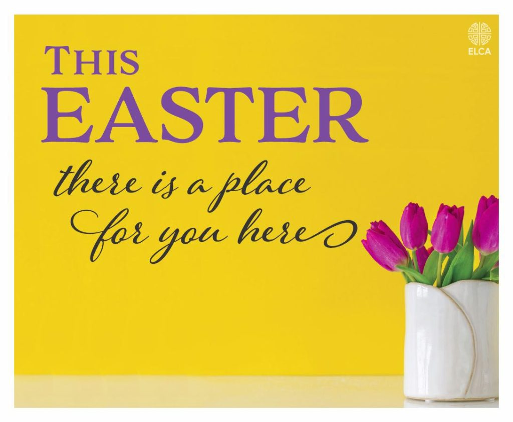 Join us at St. John's for Easter!