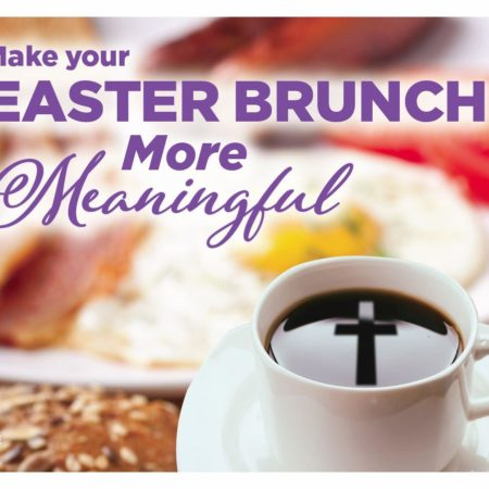 Easter Brunch on Palm Sunday
